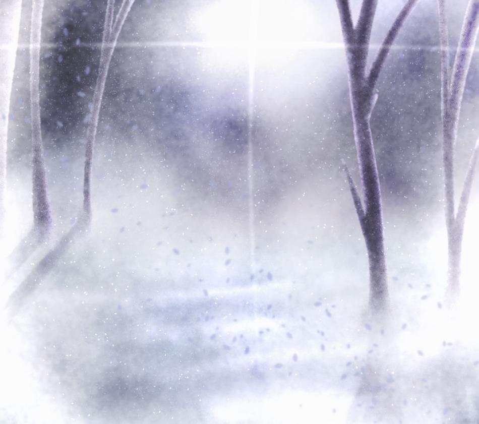 Snowy Background by Dashigriffins