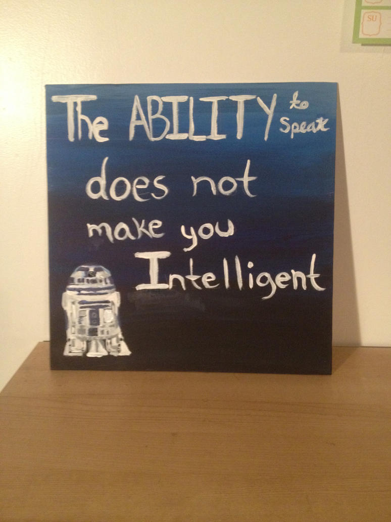 Star Wars quote board by CyrillicConsortium
