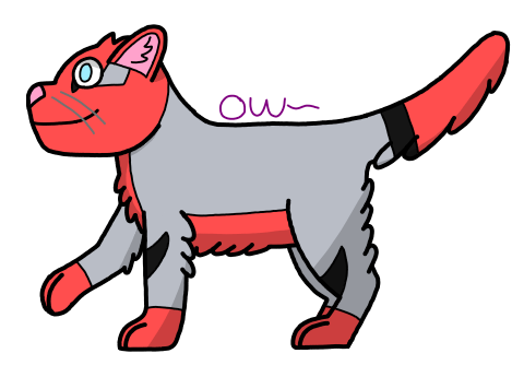 REQUEST- Orca has no idea how to fur (MudKey Cat) by OrcaWhatever