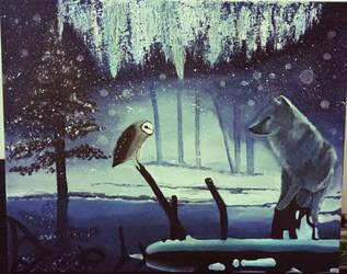 Winter Wonderland Acrylic  by Windigo02