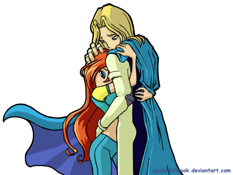 winx club bloom and sky by mysketchbook on deviantart