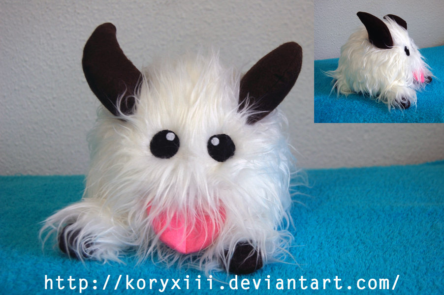 Poro plush- League of Legends by KoryXIII