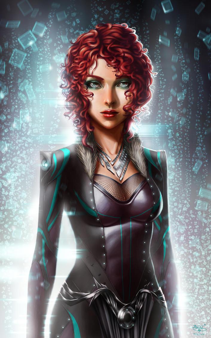 mujer del futuro by bdr2e37