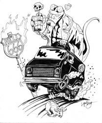 Hellboy Monster Rod