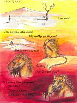 In The Desert by Stephen Crane