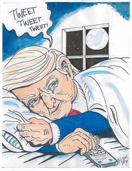 Sad tweets in the night