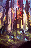 Color  Forest By Zicuta