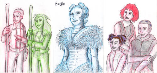The Tribe - Character Sketches