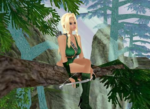 Lucia Riveria - Human Archer
