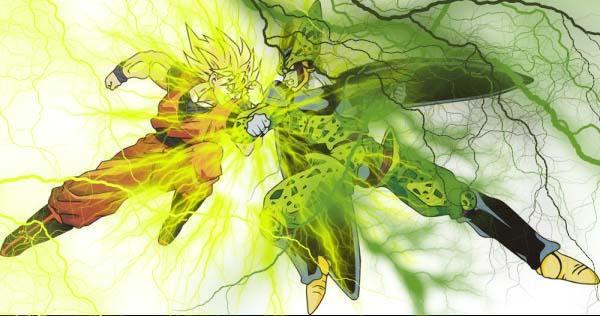 Goku Vs Cell by malan2k7 on DeviantArt