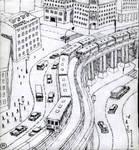 Monorail bridge