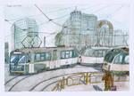Monochromatic Trams