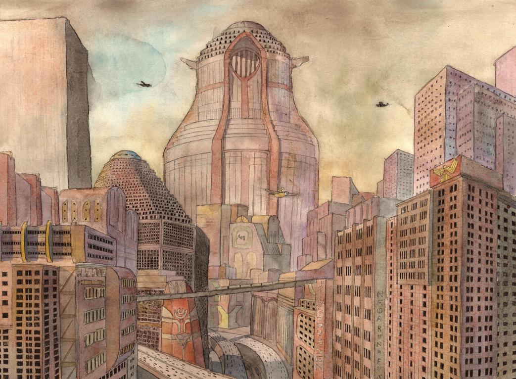 Metropolis by mikopol