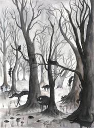Black Woods by mikopol