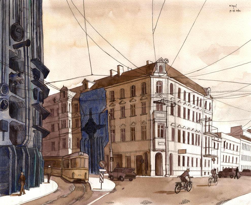 Street Maze 23 by mikopol