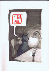 Gumpy Cat by mikopol