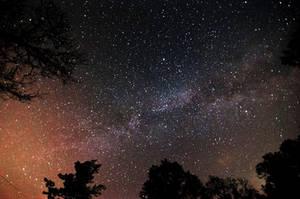 July 7th Milky Way Shot by blackismyheart90