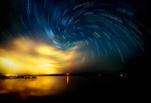 July 26th, 2014 - Night Sky over Lake Margrethe