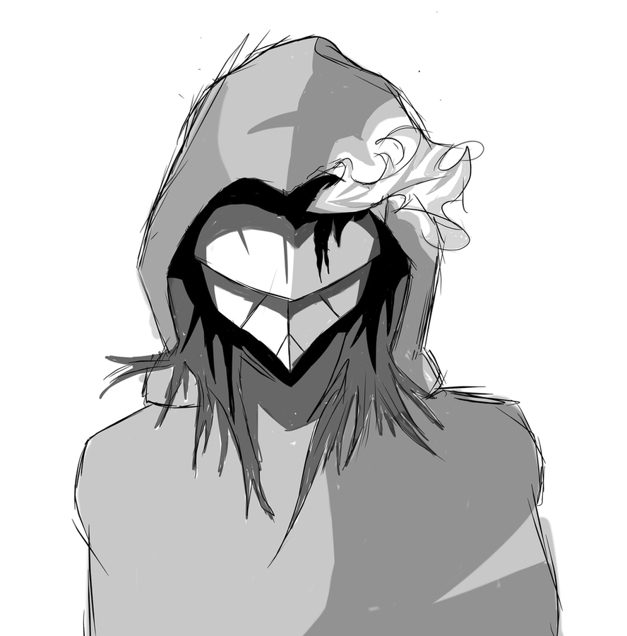 Masked Man Sketch by Chrissy743