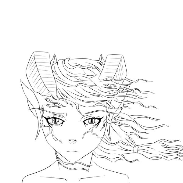 Dragon Girl OC by Chrissy743