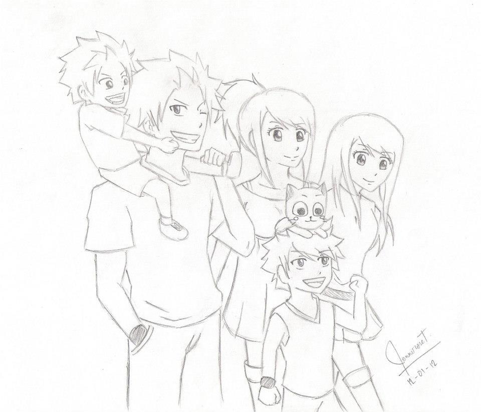 Dragneel Family by JNRS24 on DeviantArt