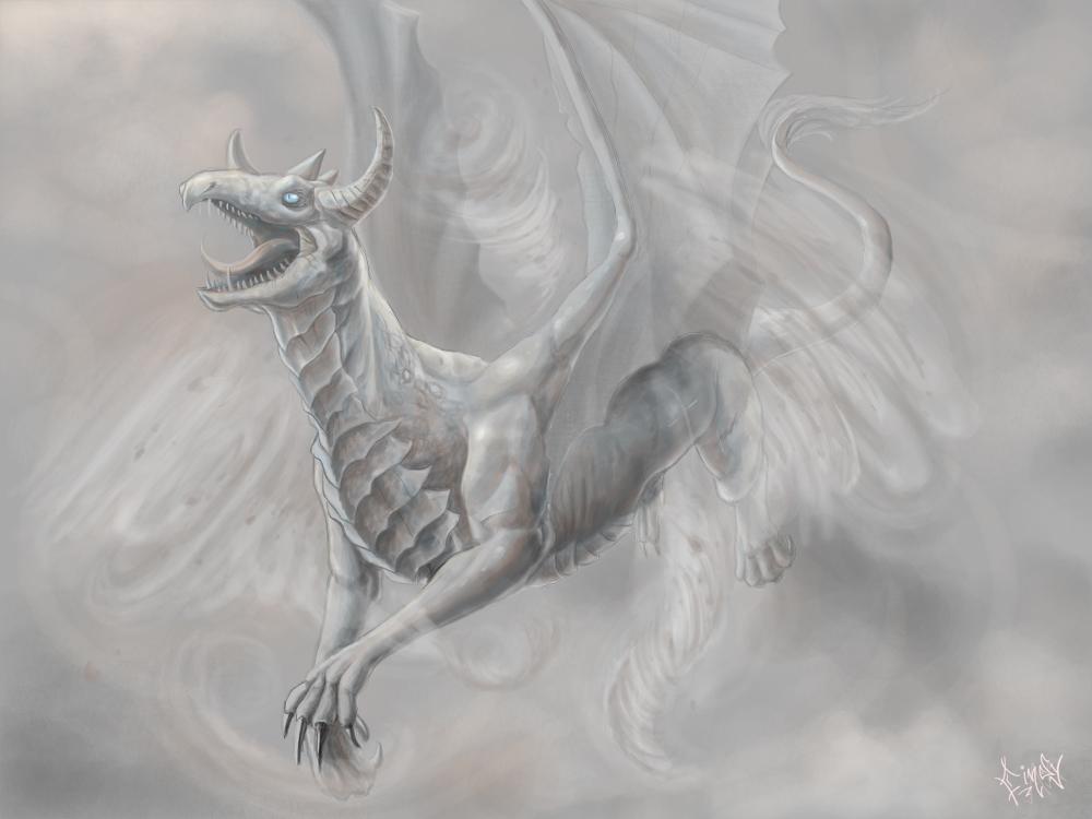 Wind Dragon by CindyAA
