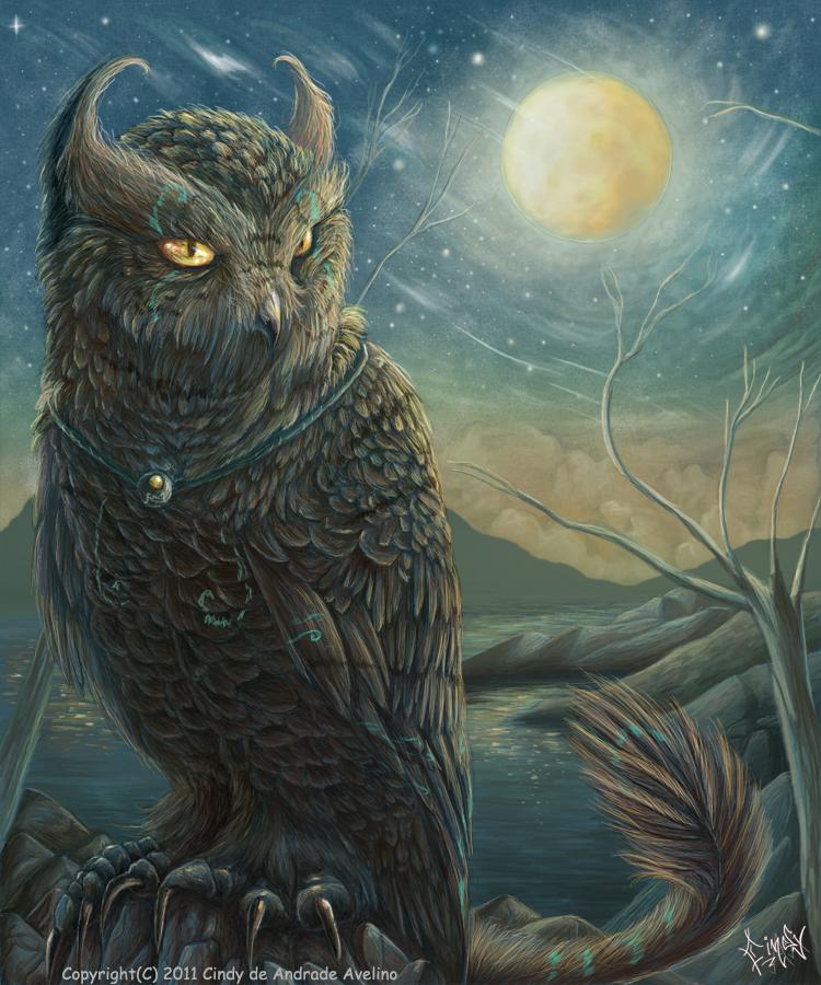 Karine -The Cat-Owl by CindyWorks
