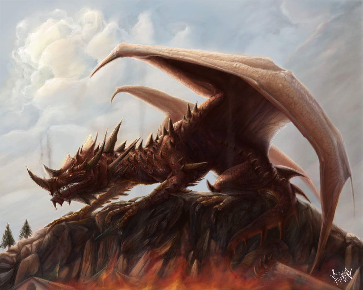 Eternal fire by CindyAA