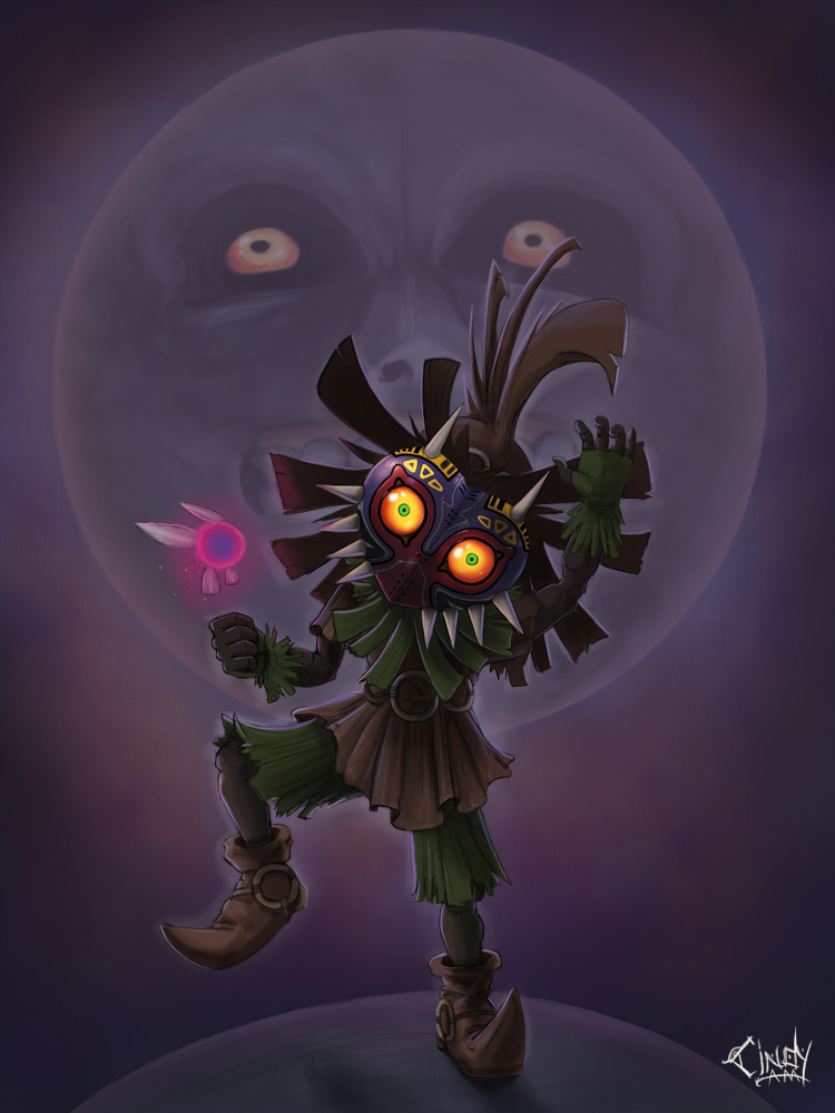 Majora's Mask by CindyAA