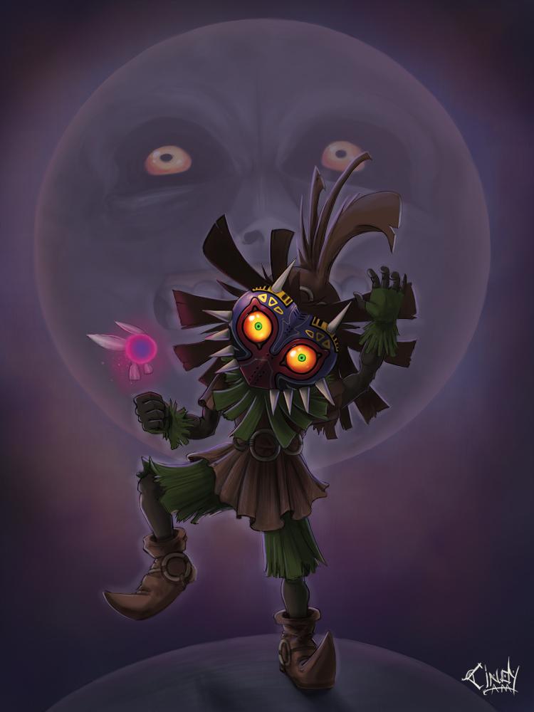Majora's Mask by CindyAA