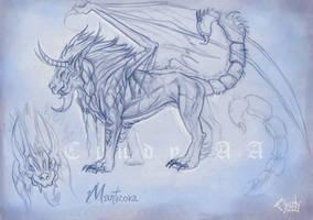 Manticora by CindyWorks