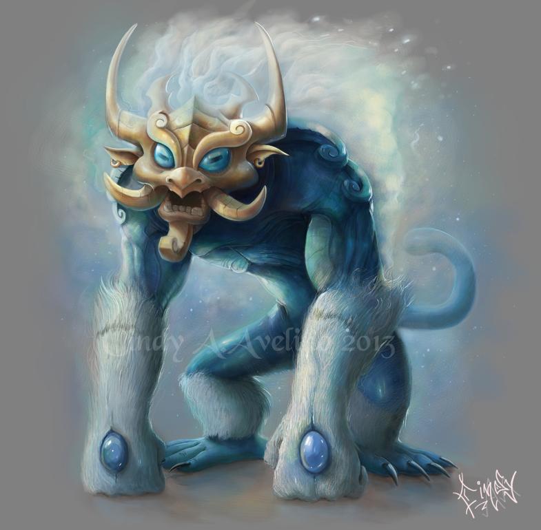 Criatura 4 by CindyWorks