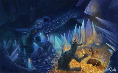 Don't you dare steal the treasure of the Dragon by CindyWorks
