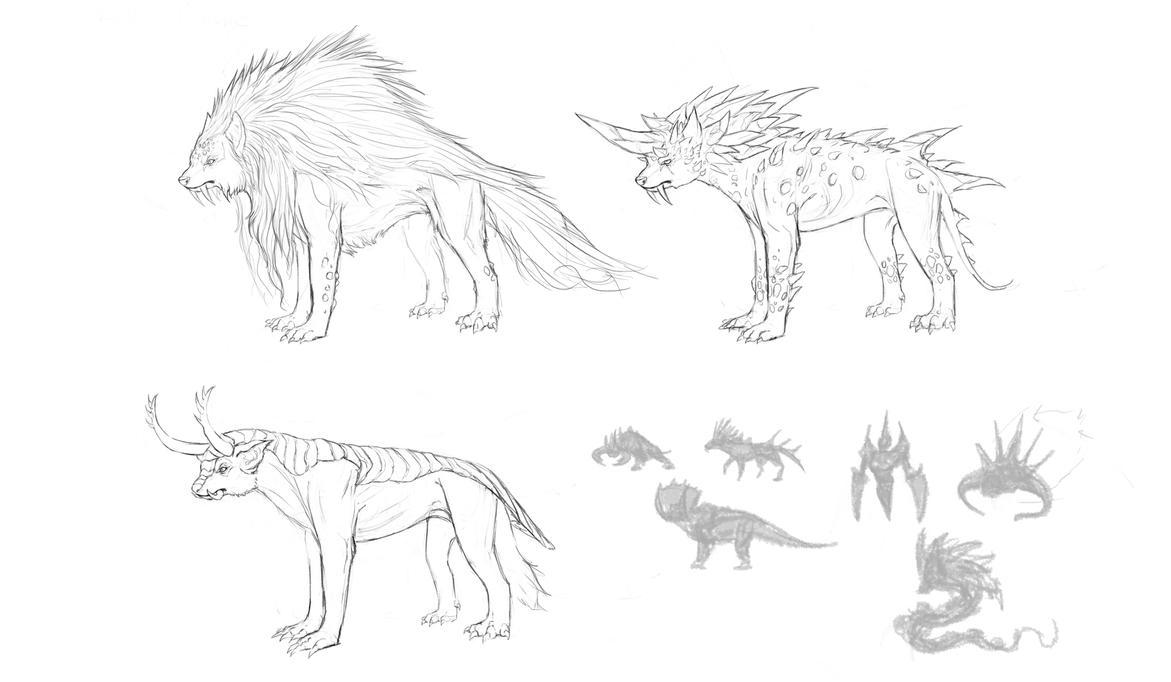 Creatures by CindyAA