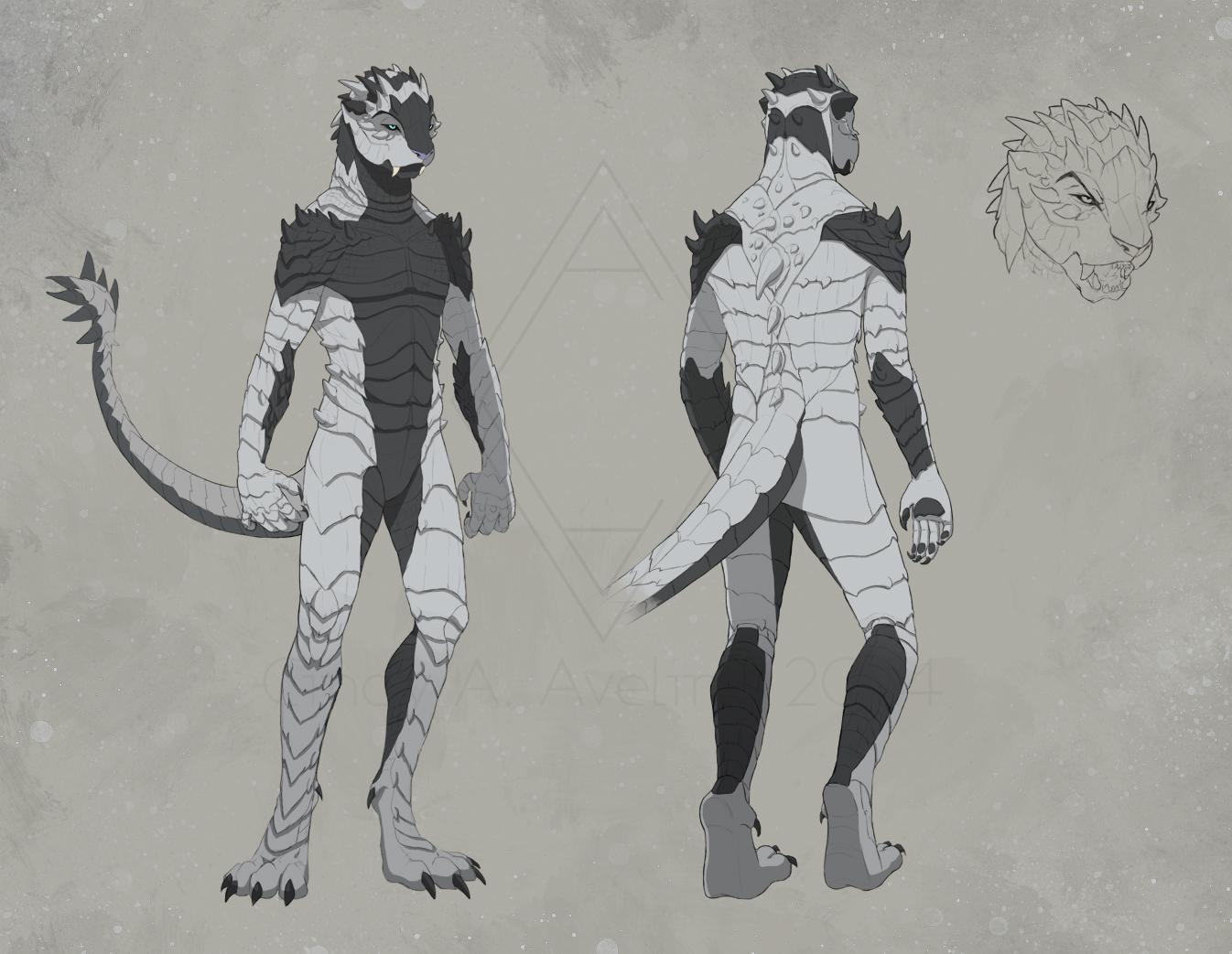 Kinn - Character Design