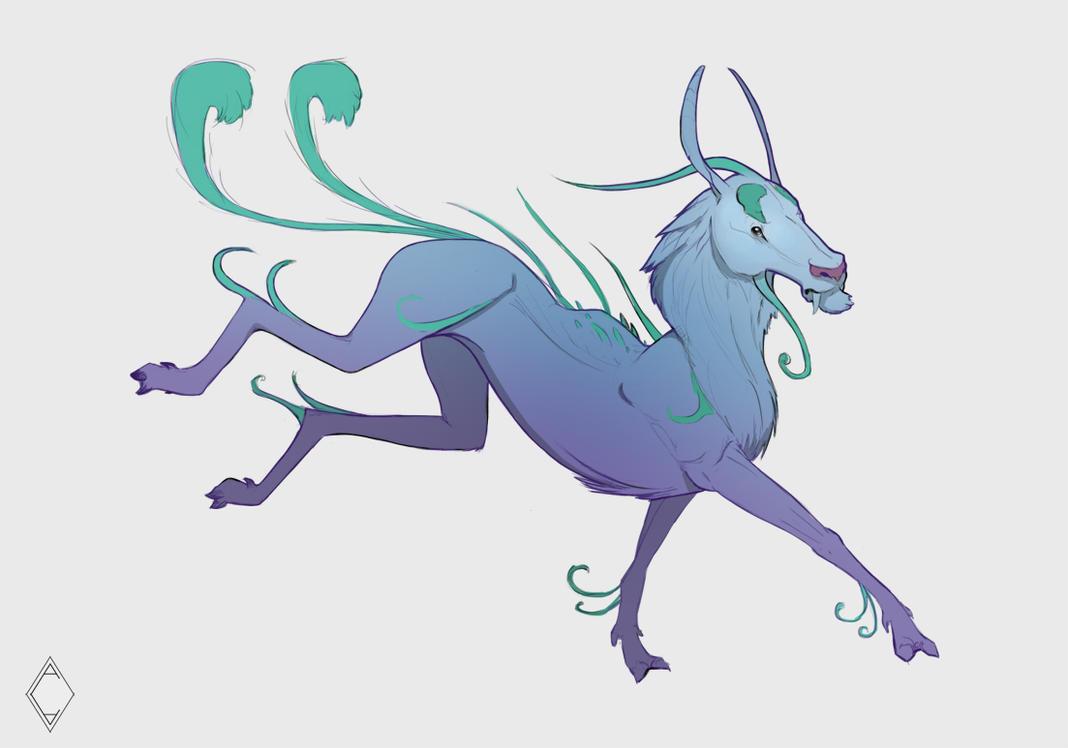 Creature Idea 1 by CindyAA