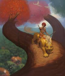 Jungle girl by CindyWorks