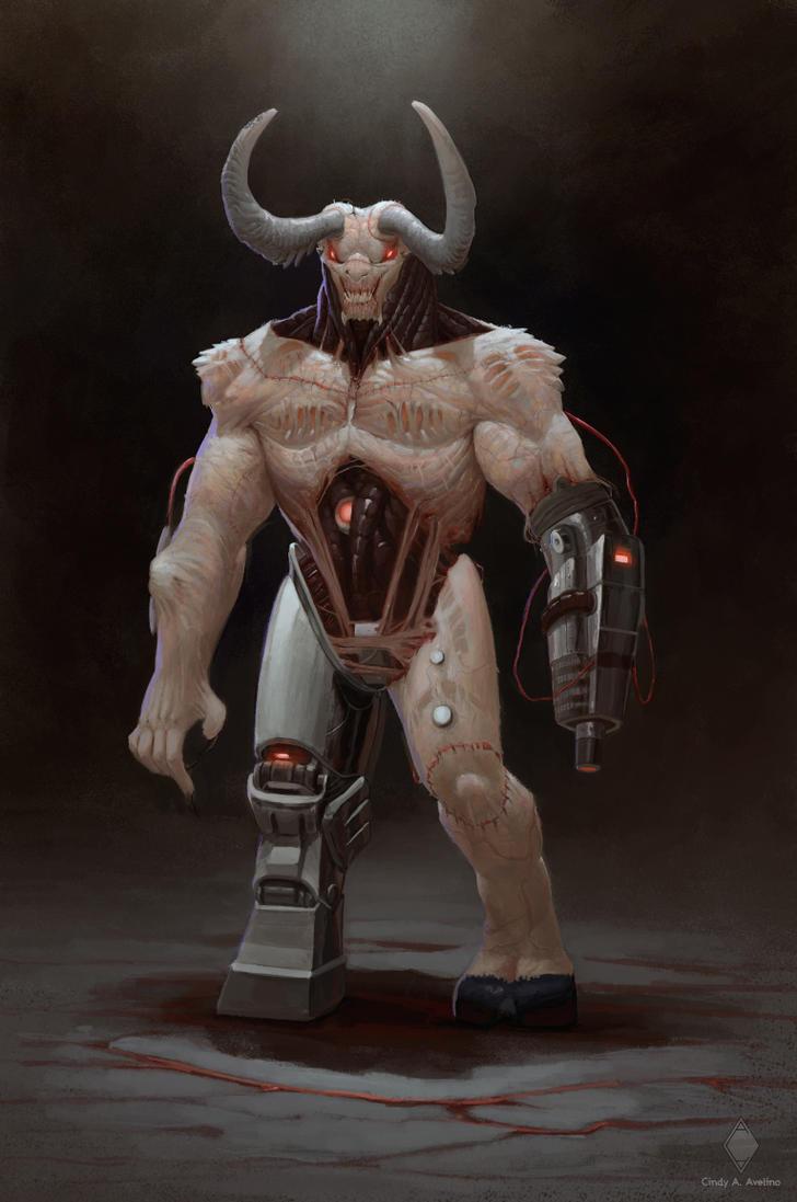 Doom Cyberdemon by CindyWorks