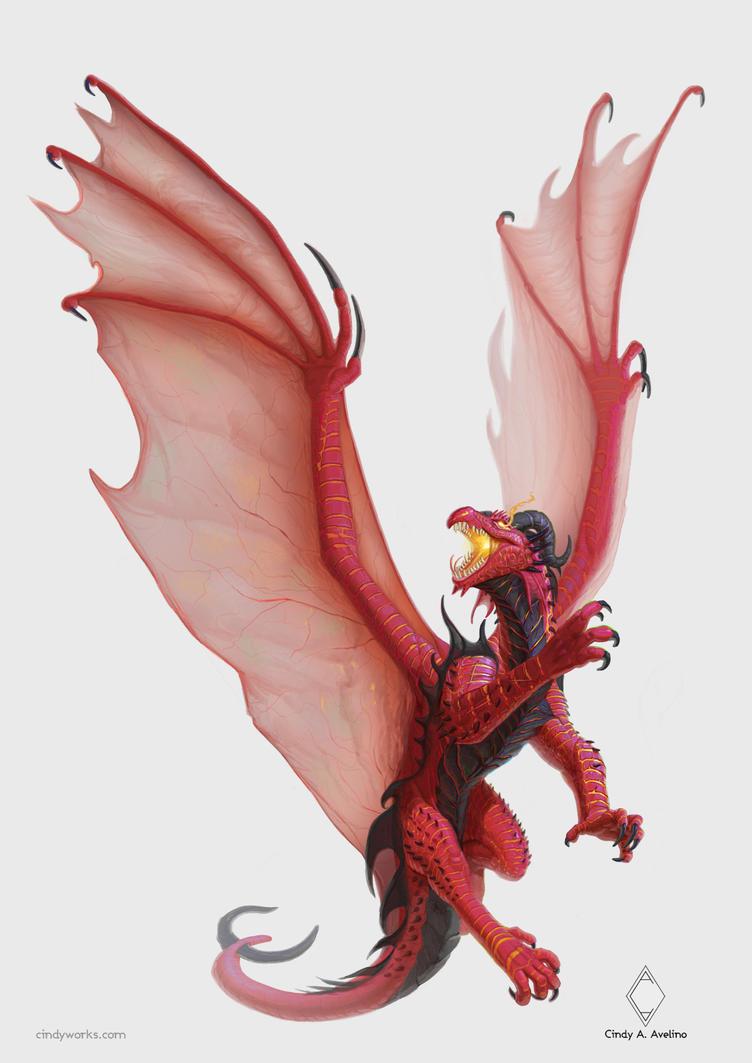 Fire Dragon v.2 - Regulus project by CindyWorks