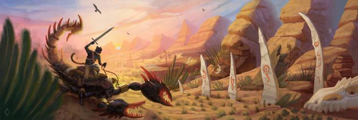 Scorpion Ride by CindyWorks