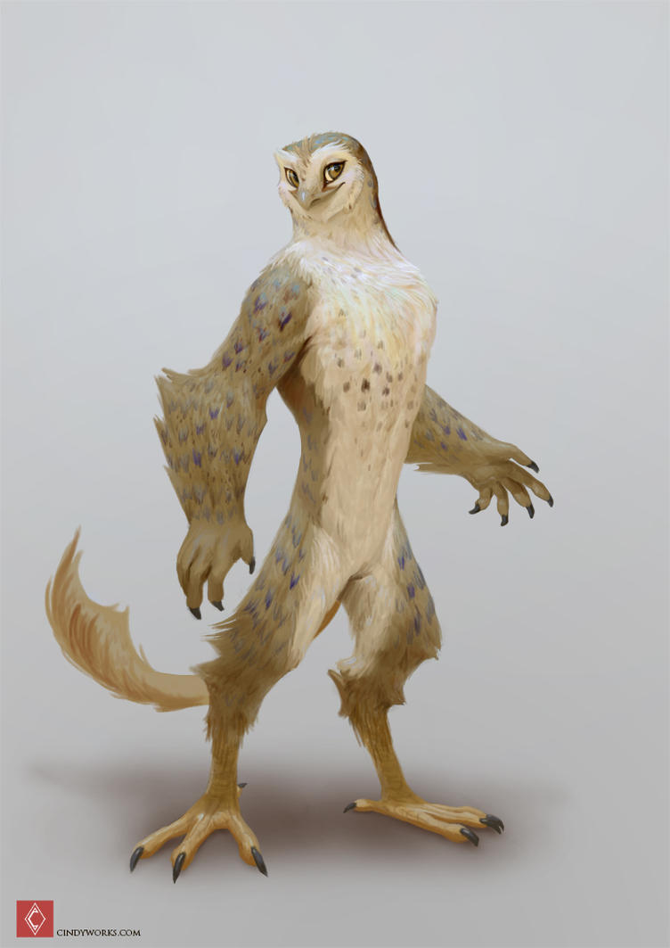Regulus Project - Owl race color test by CindyWorks