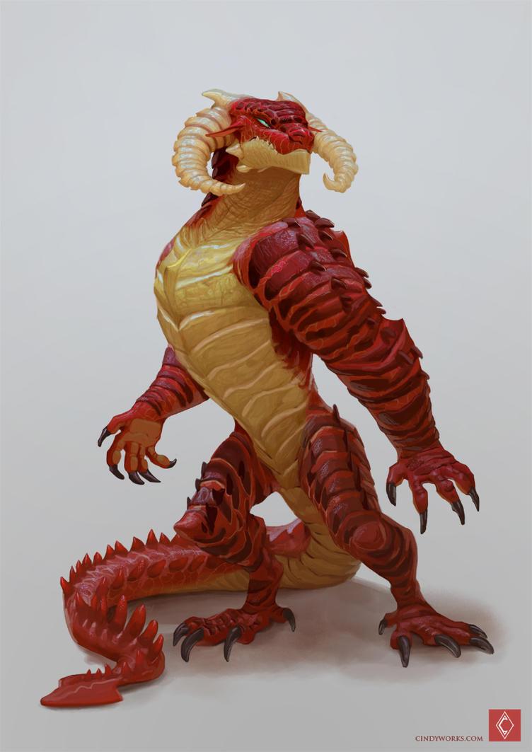 Regulus - Dragon male by CindyWorks