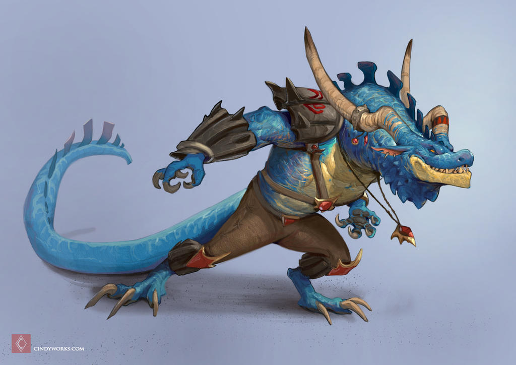 Regulus - Dragon race by CindyWorks