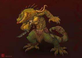 Iguana by CindyWorks