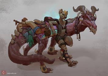 Rider  by CindyWorks