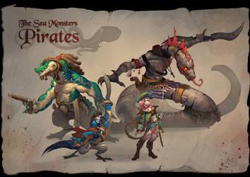 pirates! by CindyWorks