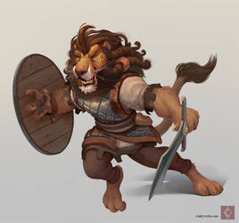 Lion Warrior
