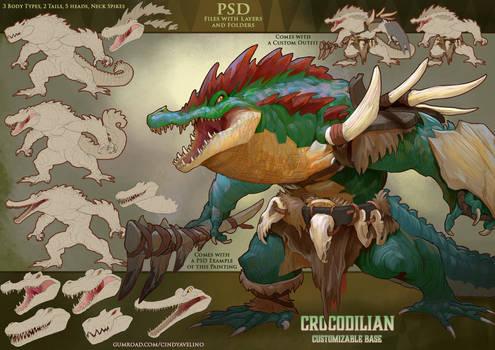 Crocodilian Base