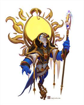 The Sun God RA