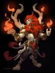 Lion Fire Mage